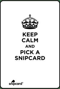 das snipbaord - darauf hängen snipcards