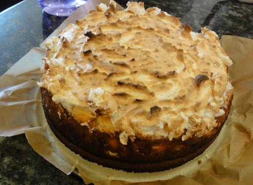 Jamie Oliver's NYS cheesecake