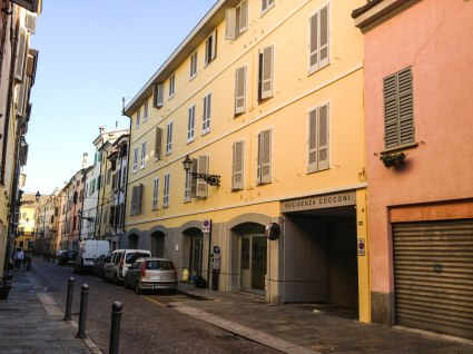 Residenza Cocconi, where I stayed for 5 weeks