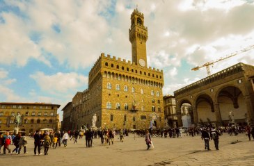 Palazzo Vecchio during the day