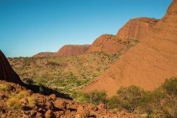 At the lookout – Valley of the Winds Walk