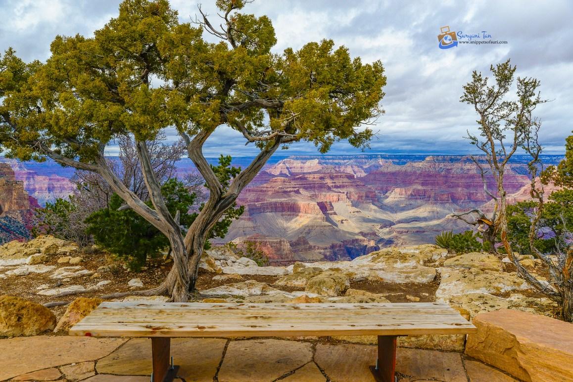 USA National Park Grand Canyon South Rim
