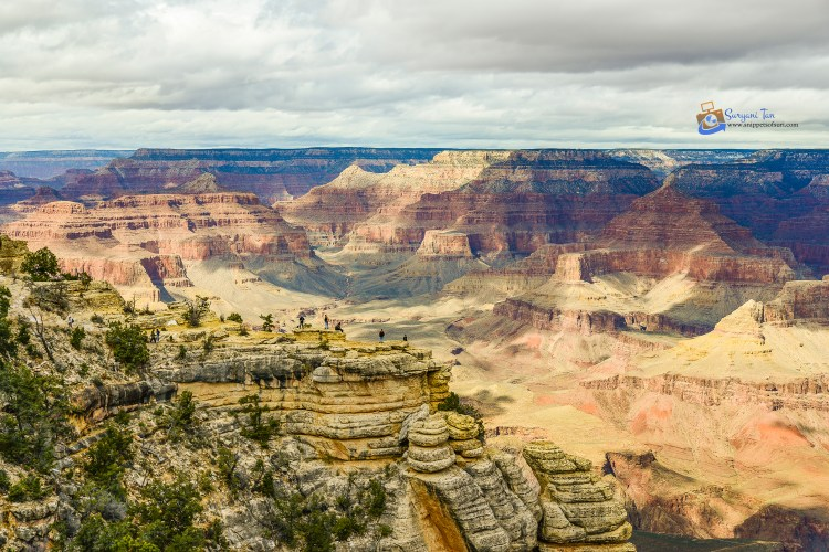 National parks in the USA Grand Canyon South