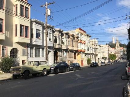 San Francisco has interesting styles of housing