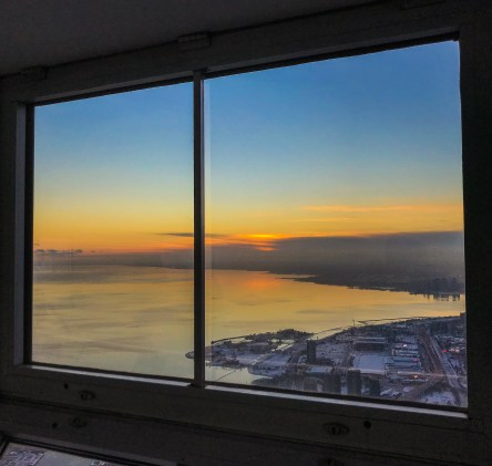 Sunset from CN Tower_Toronto