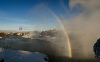 Double Rainbow at Niagara Falls