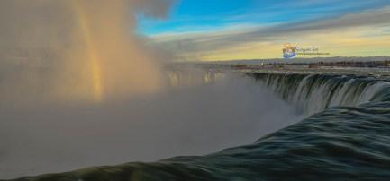 Towards End of Niagara Falls