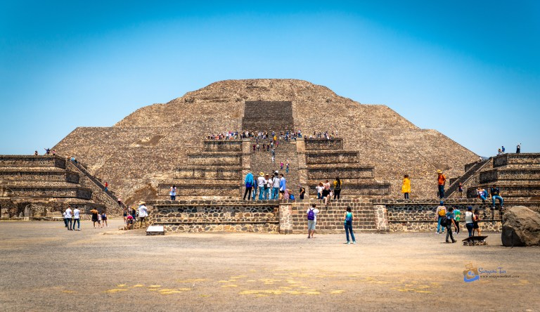 Teotihuacan Pyramid of the Moon Mexico