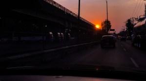 Train Sun Mexico City Mexico