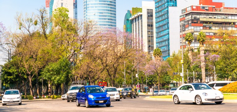 Reforma Avenue Downtown Mexico City