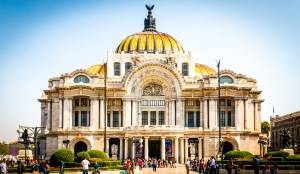 Palacio De Bellas Artes Downtown Mexico City