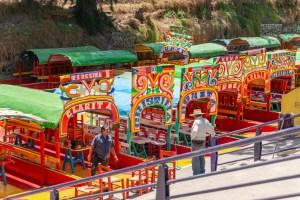 Xochimilco Boat Ride Trajineras Mexico