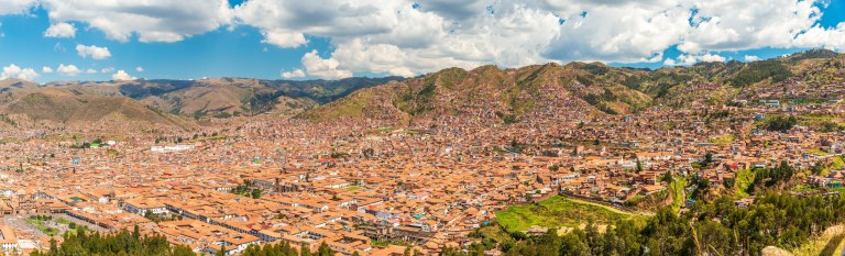 Cusco from Sacsayhuaman 2