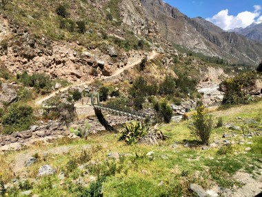 Start of the Inca Trail Sacred Valley Machu Picchu Peru