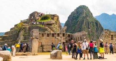 The Inca Ruins Machu Picchu Peru