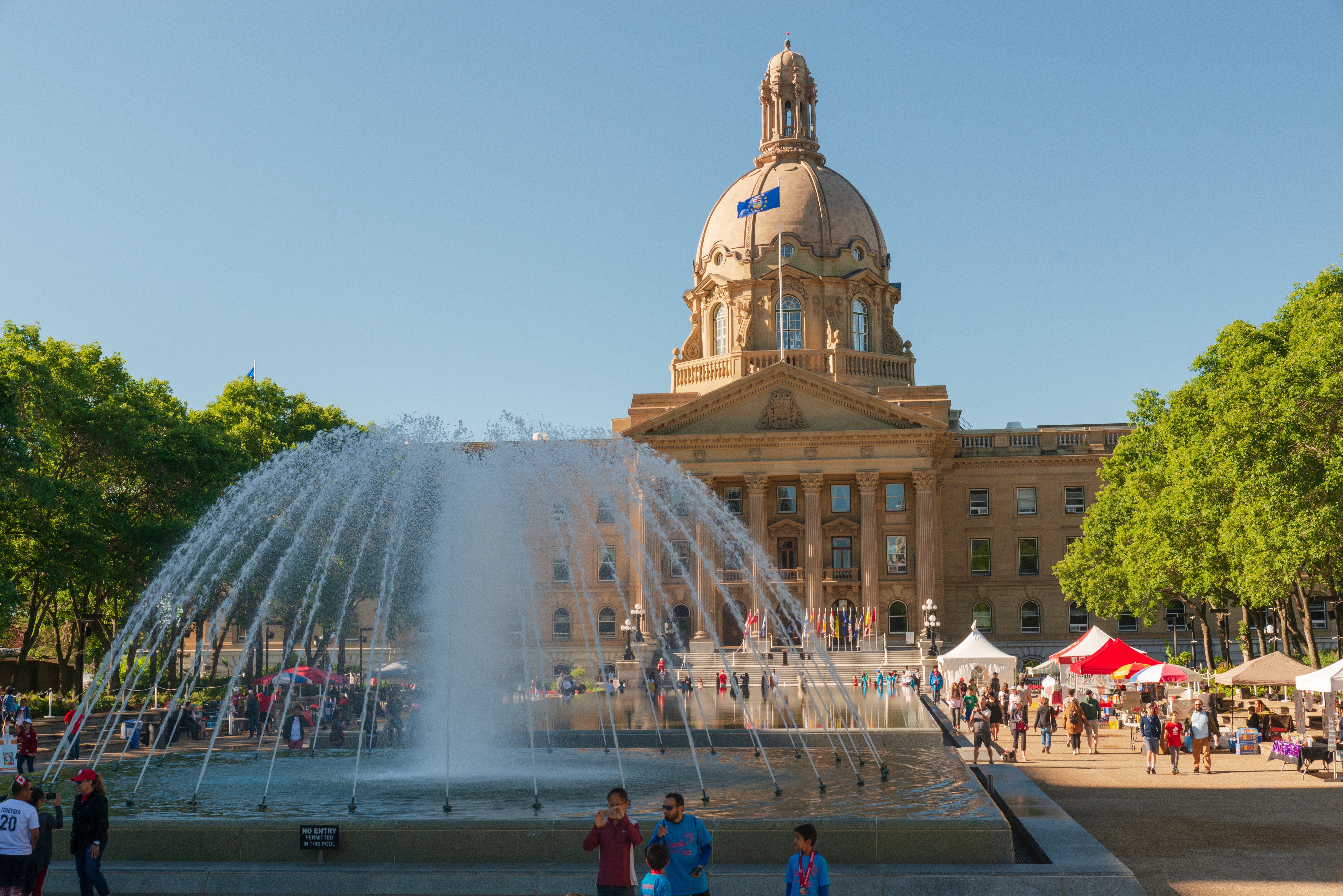 Alberta Legislature Ground, Edmonton, Canada