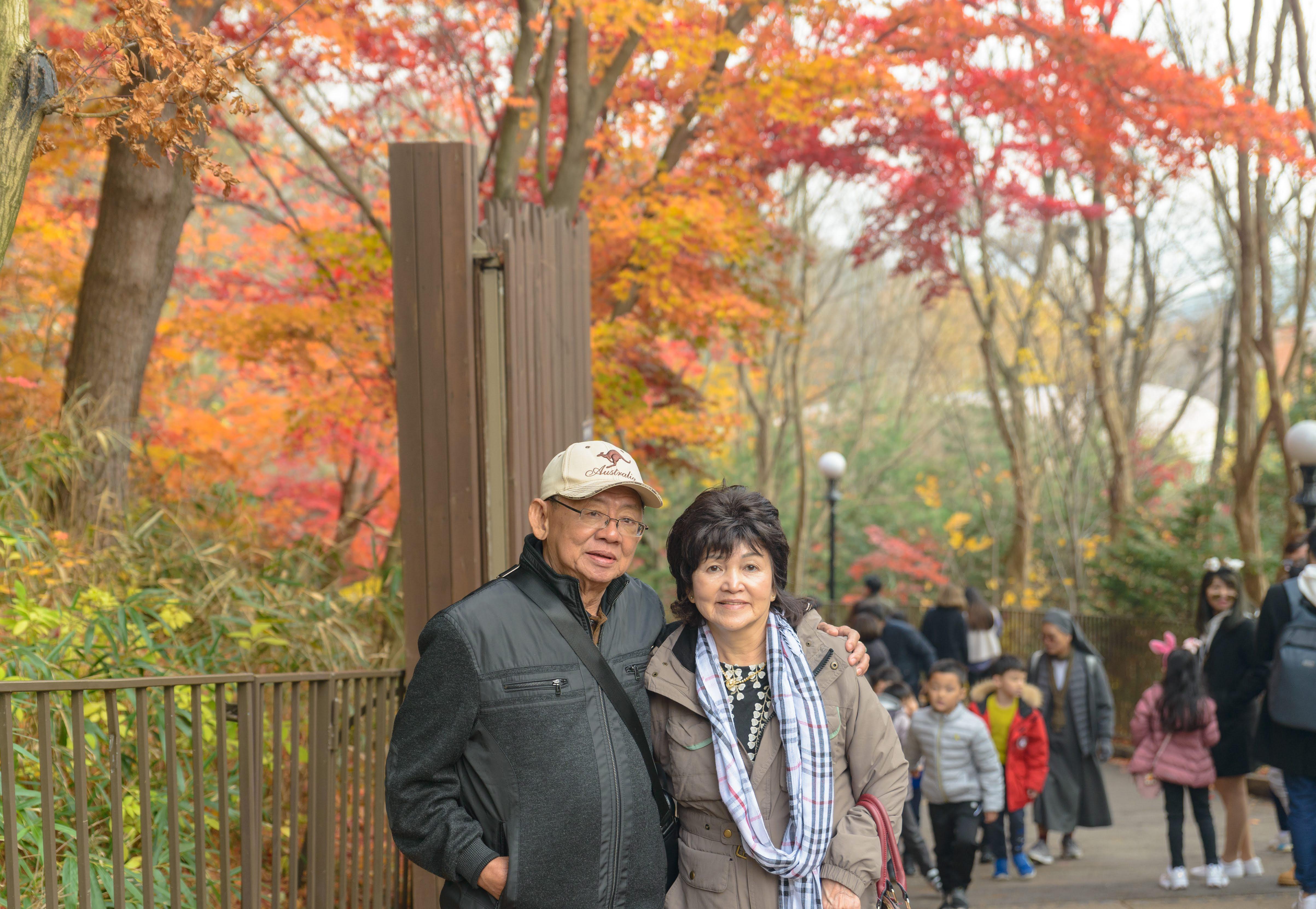 Mt. Naejangsan National Park South Korea DaeguKorea Autumn Autumn Colors Colorful Leaves Portrait Nikon D800