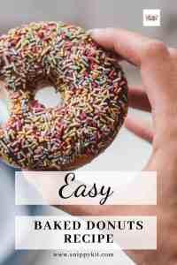 Quick & Easy Homemade Baked Doughnut Recipe