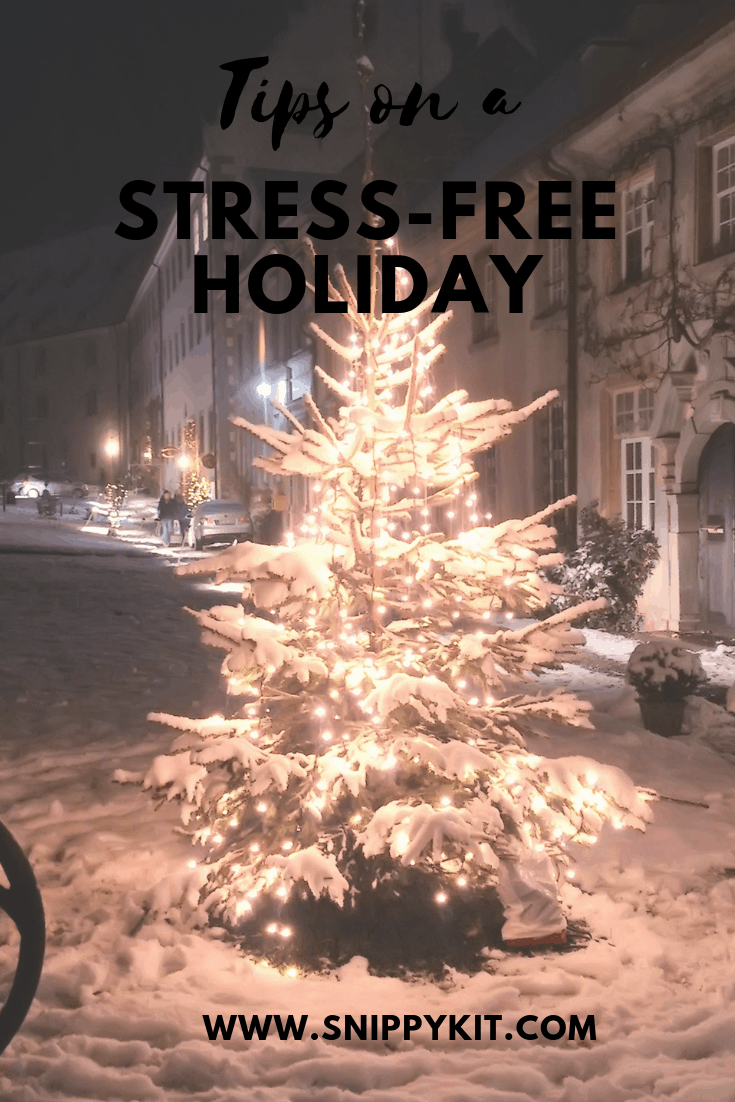 Being intentional with our time during the holidays will help with stress levels. Read more for other tips on stress free holidays.