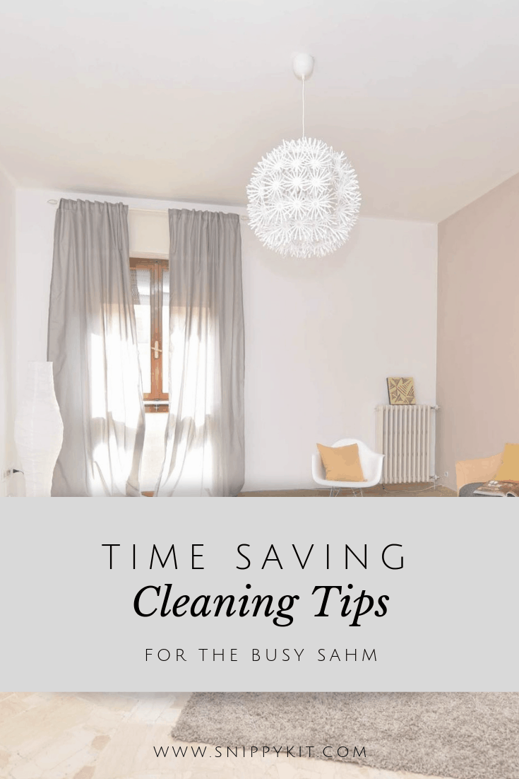 """My house is a disgusting mess"" - Sound familiar? These lazy, step-by-step cleaning and decluttering tips will whip any house into shape in record time!"