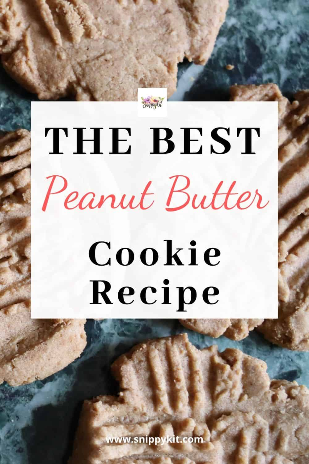The best peanut butter recipe you will ever try. #cookierecipe #peanutbuttercookies