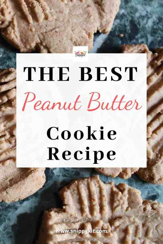 The best chewy peanut butter cookies you will ever try.  This classic, easy peanut butter cookie recipe will be an instant hit with anyone you share it with.   #cookierecipe #peanutbuttercookies