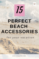 These beach accessories are all you need for the best beach vacation ever! From umbrella safes to hi-tech coolers, they're our beach gear must-haves