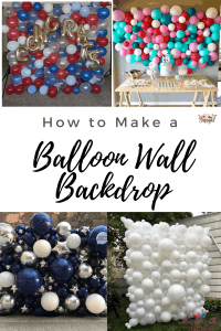 How to Make a Balloon Wall in 4 Easy Steps