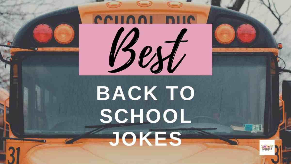 These 27 silly, but funny back to school jokes for kids can break the ice between new friends, or win over the heart of their new teacher.