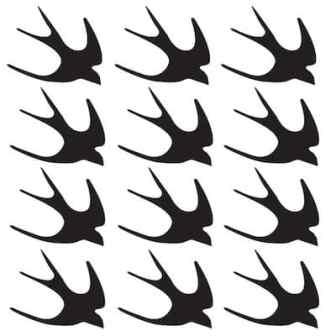 free swallow bird SVG file
