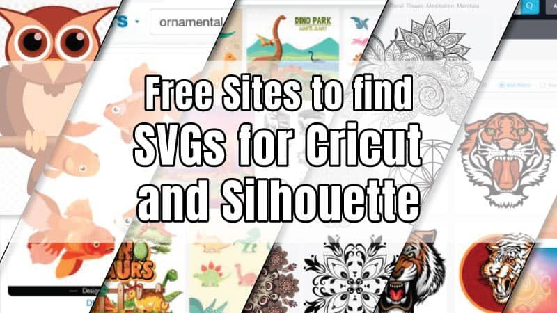 best websites to find free SVG files for cricut and Silhouette