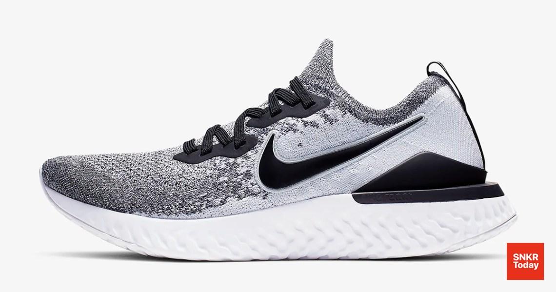 Nike Epic React Flyknit 2 สำหรับผู้ชาย สี Pure Platinum