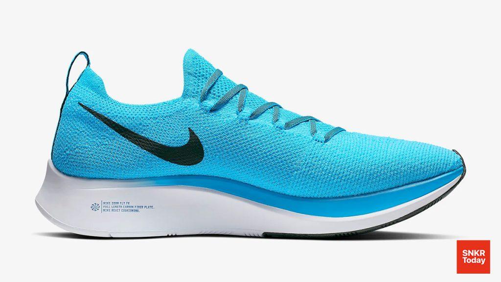 Nike Zoom Fly Flyknit สี Blue Orbit