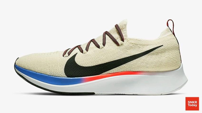 Nike Zoom Fly Flyknit สี Light Cream