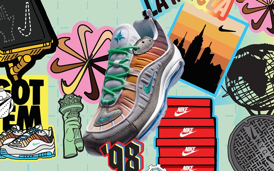 Nike Air Max 98 On Air Gabrielle Serrano