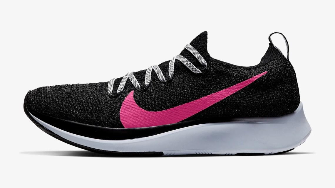 Nike Zoom Fly Flyknit สำหรับผู้หญิง สี Hyper Pink