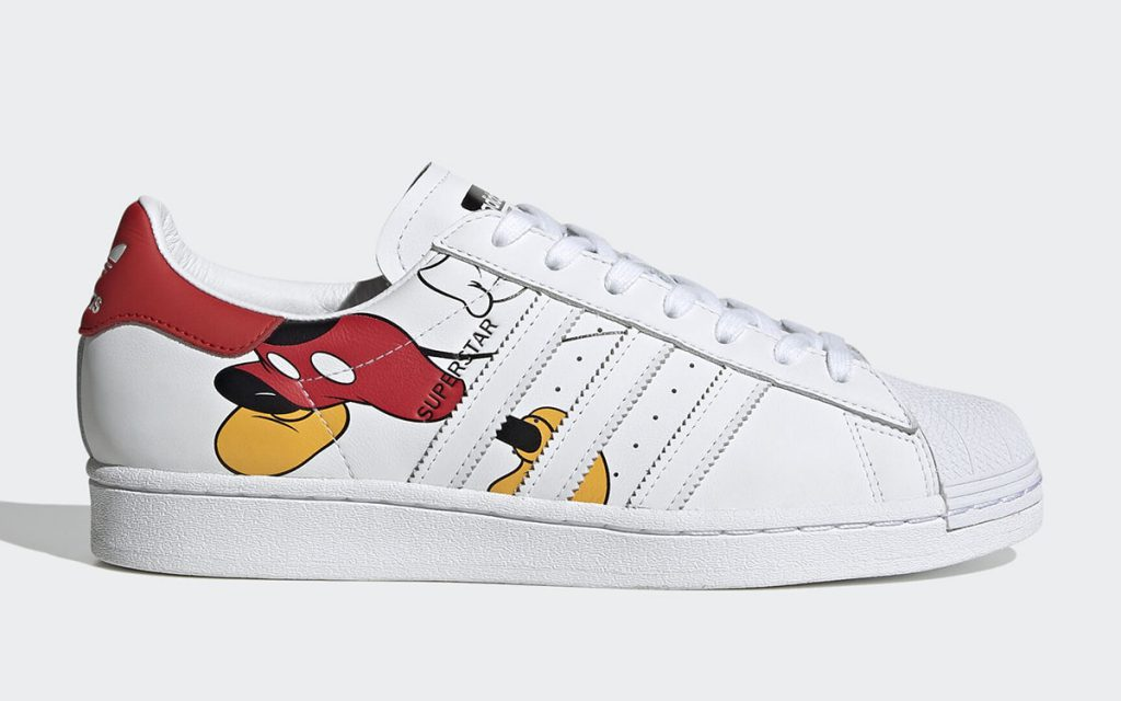 Mickey Mouse x adidas Superstar