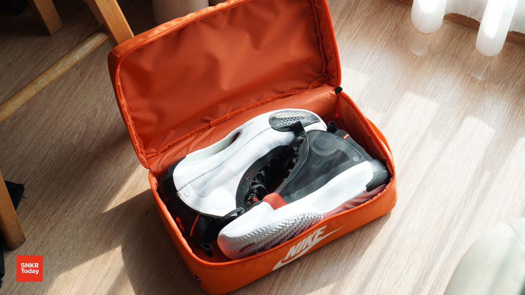 Nike Orange Shoes Box Bag