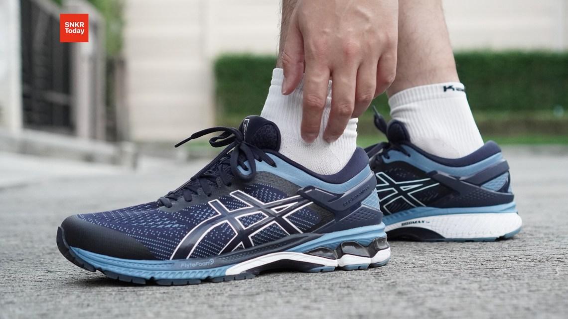 ASICS GEL-Kayano 26 รองเท้าวิ่งใส่ซ้อม ใส่แข่ง ในรุ่นนี้จะมีการปรับเปลี่ยนอะไรบ้าง และสวมใส่วิ่งแล้วเป็นอย่างไร ไปติดตามรีวิวกันได้เลยครับ