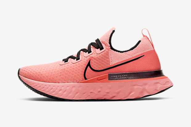 "Nike React Infinity Run ""Bright Melon"" สีชมพู"