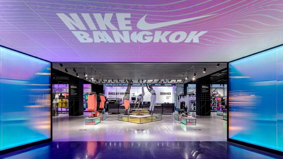 Nike Bangkok at Siam Center ร้านไนกี้สาขาที่ใหญ่ที่สุดในประเทศไทย เปิดแล้ววันนี้
