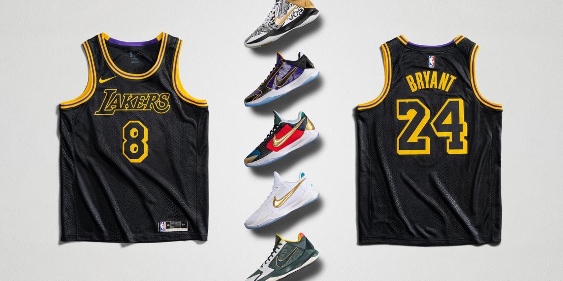 Nike เตรียมวางจำหน่ายรองเท้าและเสื้อของ Kobe Bryant ในช่วง Mamba Week