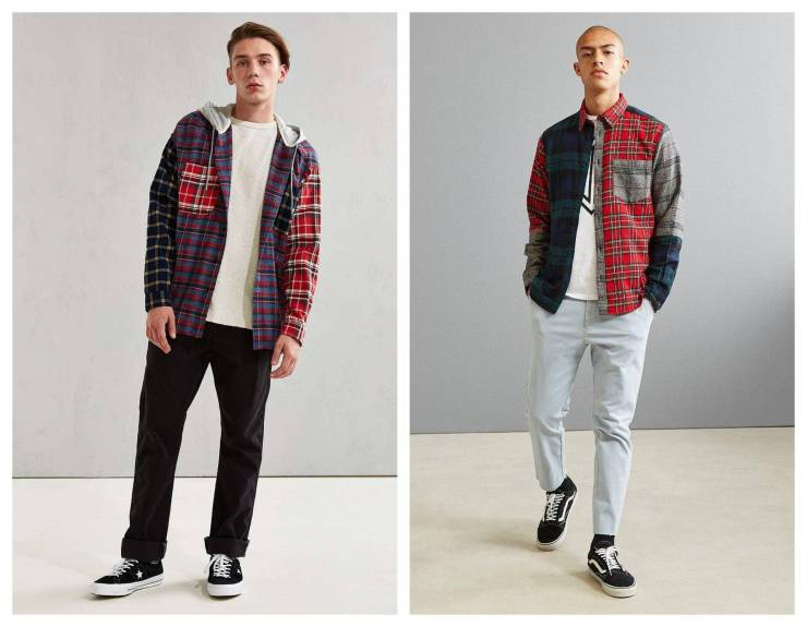 Patchwork Flannel Outfit