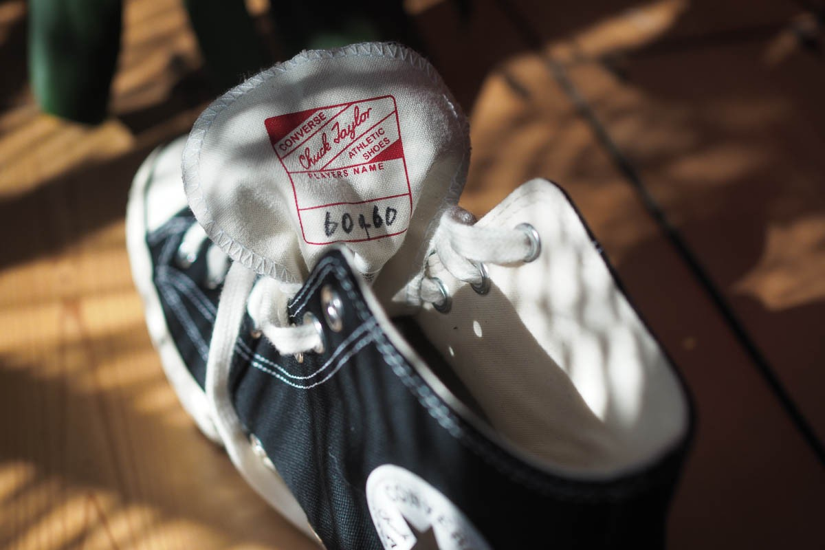 COPSON shook hands with Converse to bring its logo to the Chuck 70