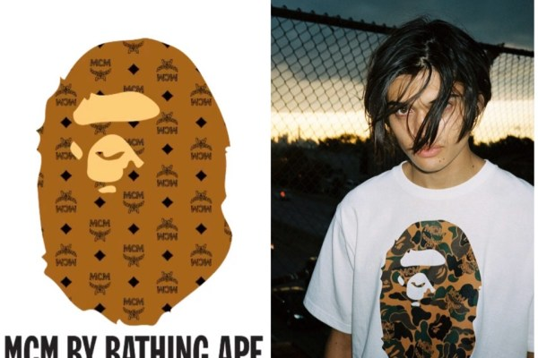 BAPE x MCM collection