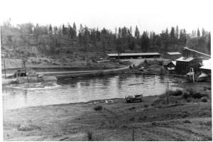 Mill pond at Sandy Gulch