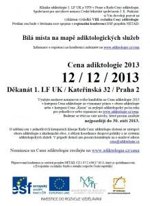 Cena adiktologie 2013