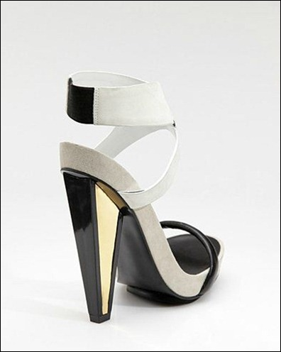 DVF - Venus two-tone sandals_back