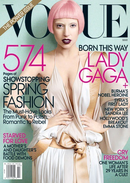 lady gaga for vogue