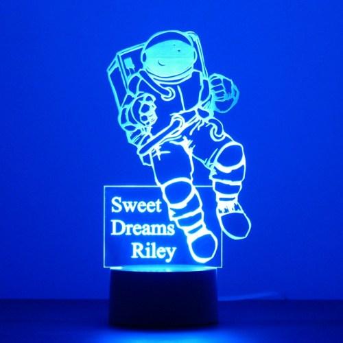 Astronaut childs night light